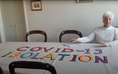 Pauline Smit Covid 19 Isolation art contribution Manningham Interfaith Network