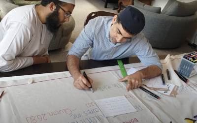 UMMA Covid-19 Artwork contribution Video – Collaboration with all faiths and more groups